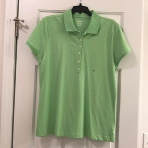 Lime green Izod top new with tags